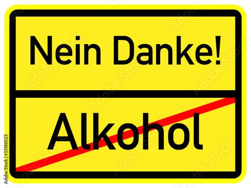Alkohol - Nein Danke - 33186523
