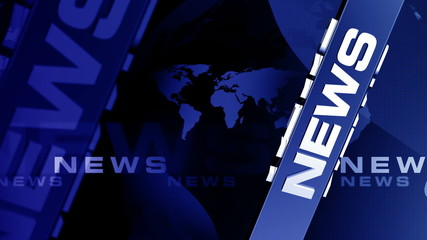 news FullBLUEcolor background