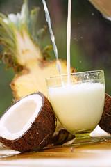 Pinacolada fresh drink
