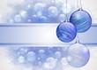 Sfondo natalizio blue - Blue Christmas background