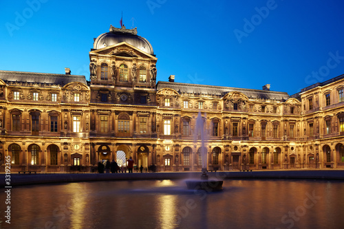 Cour carree of Louvre