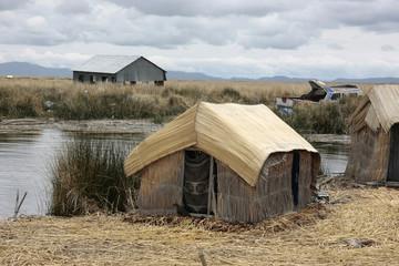 Lago Titi caca,Islas Uros,Peru