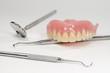 Zahnersatz, Zahnarzt-Instrumente