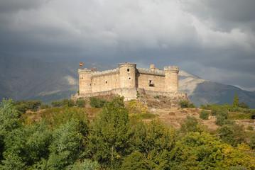 Castillo de Mombeltran en Ávila