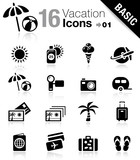 Basic - Vacation icons