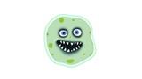 Smiling bacterium poster