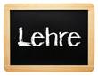 Lehre - Kreide Tafel