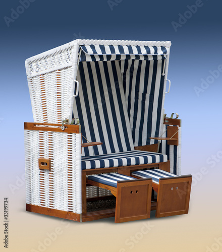 nordsee mit strandkorb von bobo lizenzfreies foto 33199734 auf. Black Bedroom Furniture Sets. Home Design Ideas