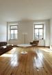 grande salotto con pochi mobili