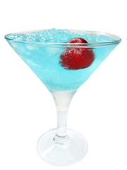 alcoholic liqueur cocktail blue lagoon