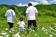 パパとママと少女