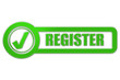 Checkbox grün glas REGISTER