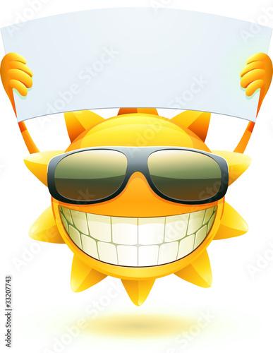 happy summer sun
