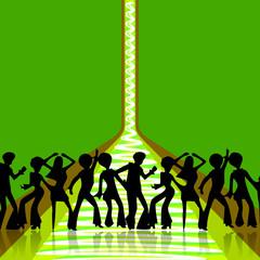 Disco Party People Tanzen