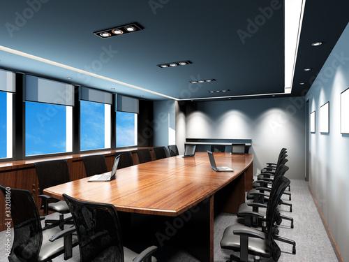 Leinwandbild Motiv Office meeting room