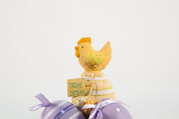 kücken auf eiern