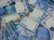 Деньги ковром