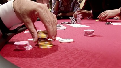 texas hold'em, tensione