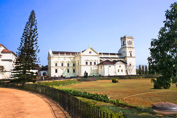 Church of St Francis of Assiisi and Se Cathedral in Old Goa