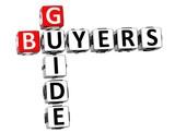 3D Buyers Guide Crossword poster