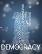 "Word Cloud ""Democracy"""