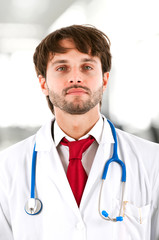 Young doctor portrait