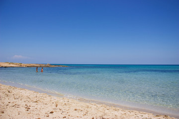 Wild coast of Sicily