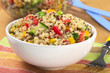 Delicious vegetarian quinoa salad