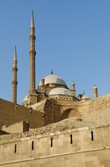 mosque in citadel of cairo egypt