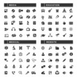 100 Black Web Icons
