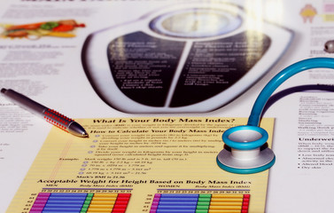 Body Mass Index Chart And Medical Tool