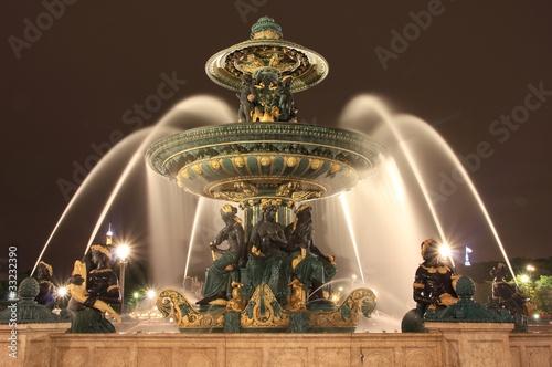 Leinwanddruck Bild Superbe fontaine