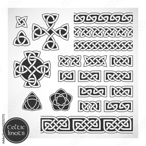 Celtic knots. Vector illustration.