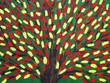 Дерево. Художественная картина, акрил, холст. Фон