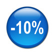 Boton brillante descuento -10%