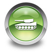 "Green Glossy Pictogram ""Tank / Armored Vehicle"""