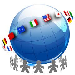 mondo comunità, bandiere