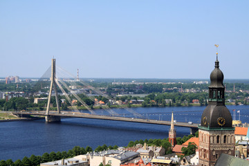 Riga (Altstadt und Düna)