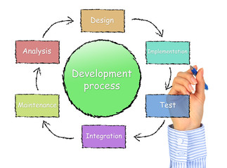 Development process.