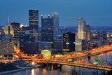 PIttsburgh, Pennsylvania Downtown Skyline