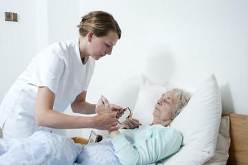 Seniorenpflegerin