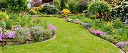 Tuinposter Tuin Im Garten entspannen