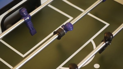 Table Soccer - classic goal with fast dribbling