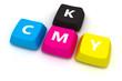 CMYK keypad