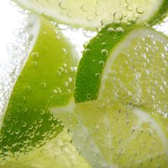 Getränk mit Zitrone - Lemon - Limette