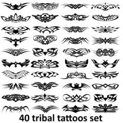 big tattoo set