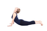 Bhujangasana sixth step of Yoga surya namaskar