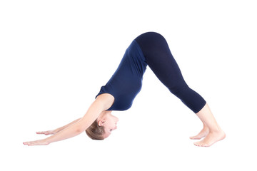 seventh step of surya namaskar Adho Mukha Svanasana