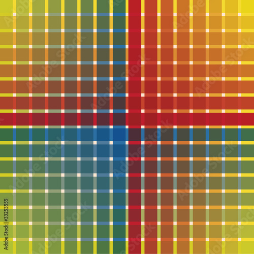 Fototapeta abstract color rectangle background - illustration
