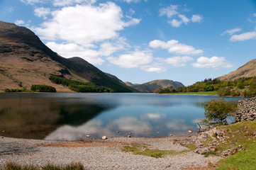 Buttermere in the English Lake District